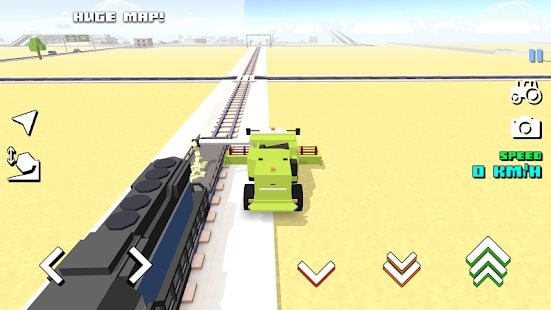Blocky Farm Racing читы