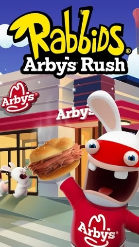 Rabbids Arby's Rush скачать