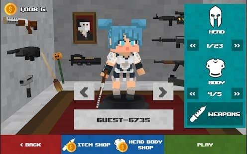 Craft Gun io андроид