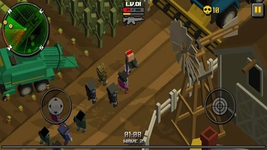 Cube Zombie Hunter скачать