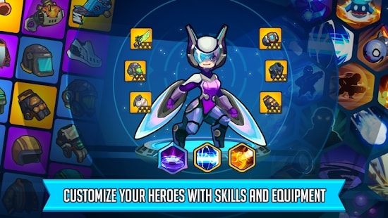 Heroes Strike мод