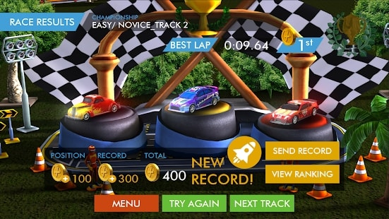 HTR+ Slot Car Simulation андроид