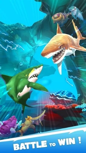 Hungry Shark Heroes мод