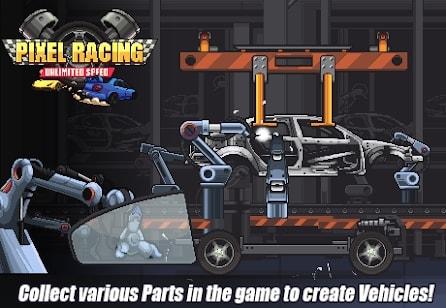 Pixel Racing андроид
