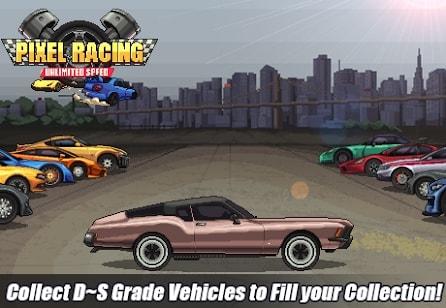 Pixel Racing мод