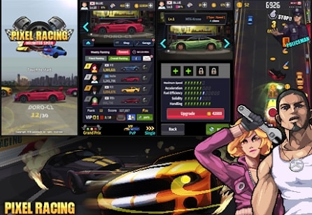 Pixel Racing скачать