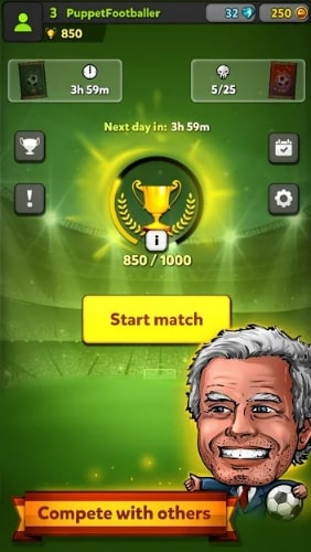 Puppet Football Card Manager читы