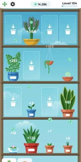 Terrarium: Garden Idle андроид