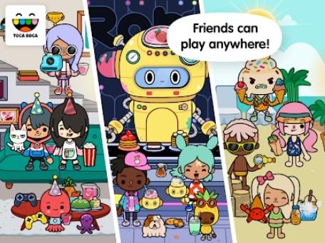 Toca Life: World андроид