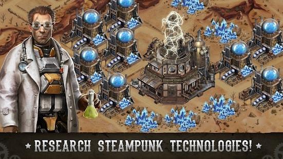 Wild West: Steampunk Alliances андроид