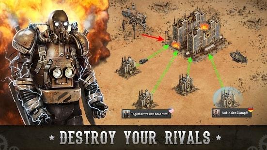 Wild West: Steampunk Alliances мод