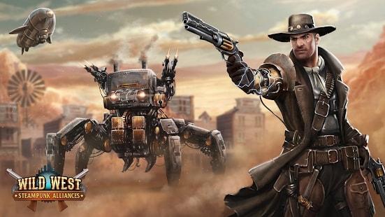 Wild West: Steampunk Alliances скачать