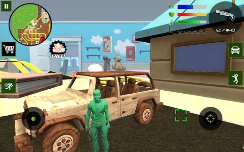Army Toys Town читы