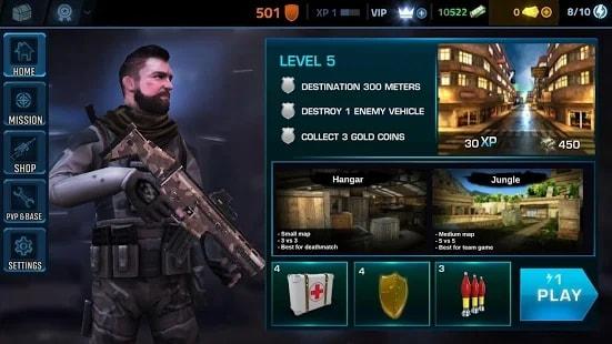Black Battlefield Ops андроид