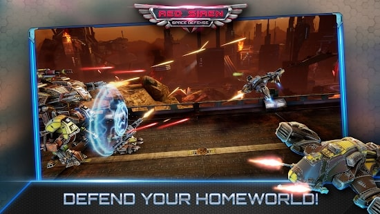 Red Siren: Space Defense читы