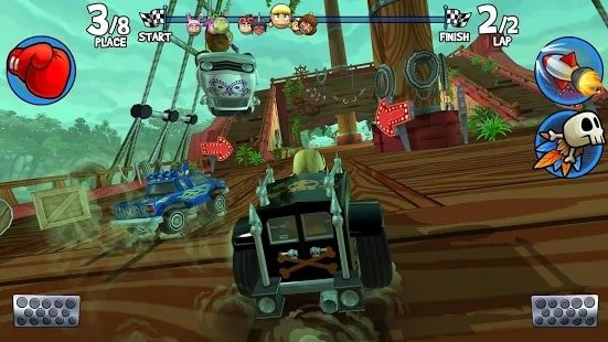 Beach Buggy Racing 2 андроид