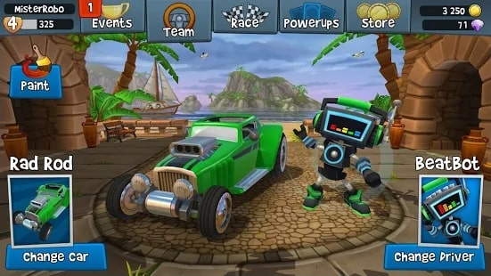 Beach Buggy Racing 2 мод