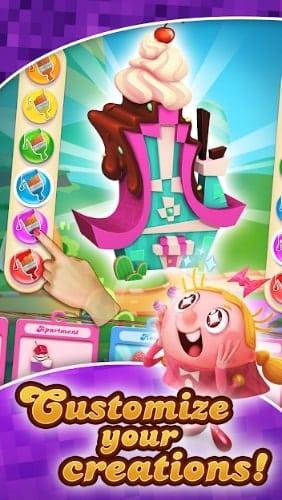 Candy Crush Cubes андроид