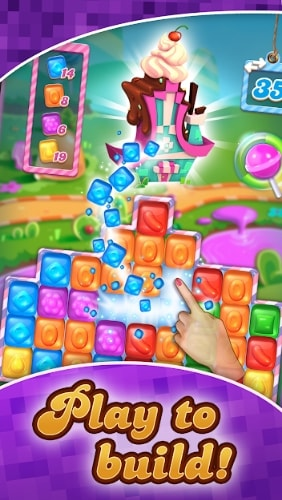Candy Crush Cubes мод