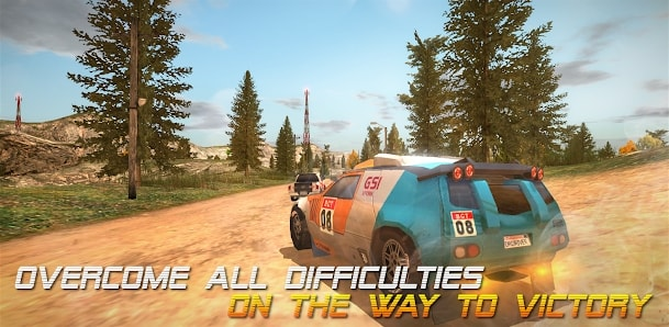 Dirt Rally Driver HD мод