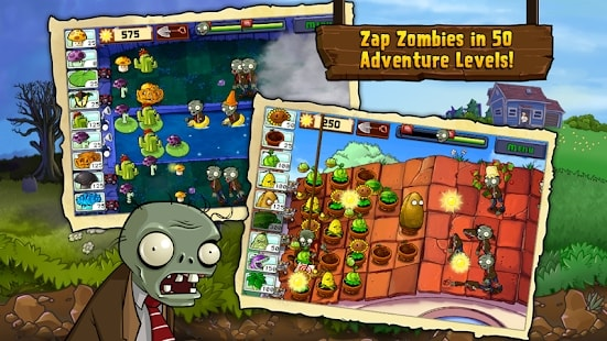 Plants vs Zombies мод