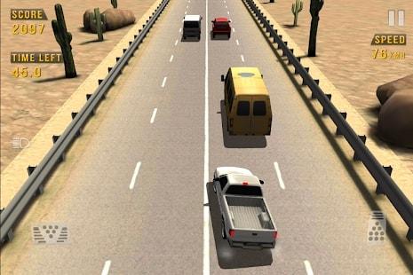 Traffic Racer мод