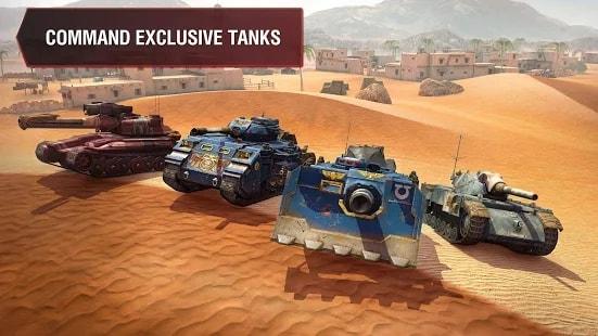 World of Tanks Blitz андроид
