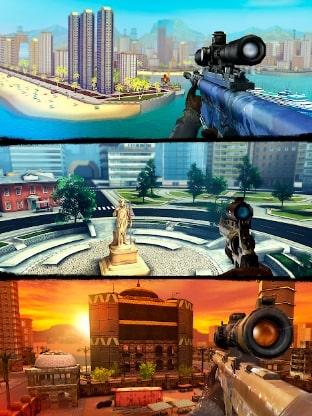 Sniper 3D Assassin мод