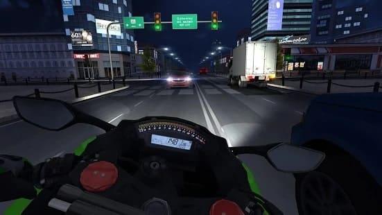 Traffic Rider мод
