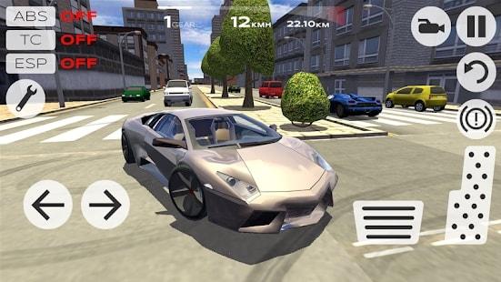 Extreme Car Driving Simulator андроид