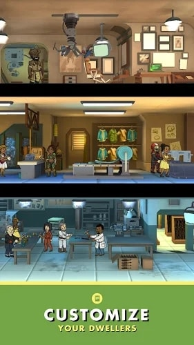 Fallout Shelter мод