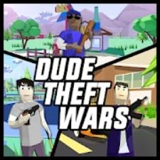 Dude Theft Wars взлом