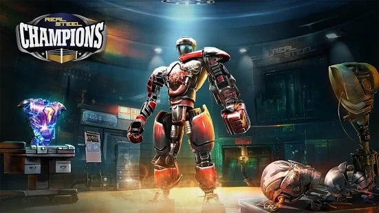 Real Steel Boxing Champions андроид