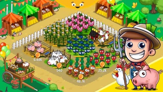 Idle Farming Empire андроид