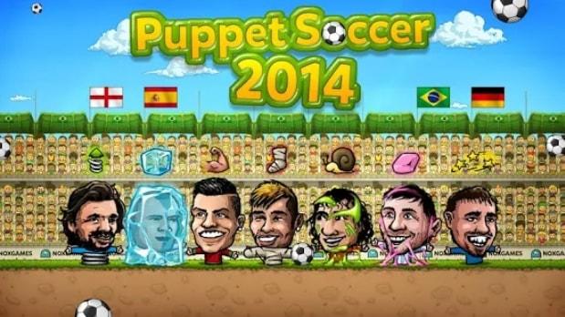 Кукольный футбол андроид