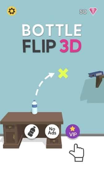 Bottle Flip 3D андроид