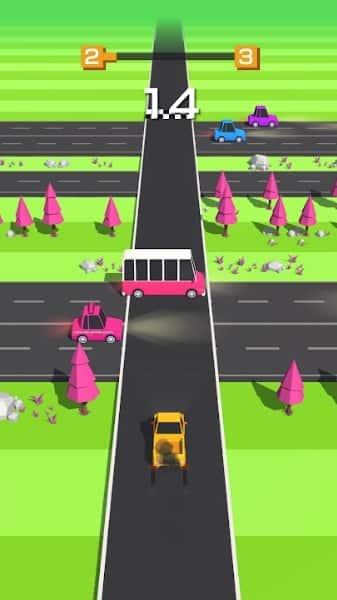 Traffic Run андроид