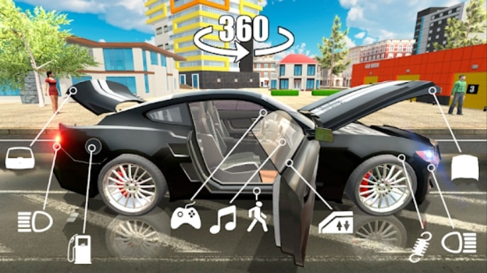 Симулятор Автомобиля 2 андроид