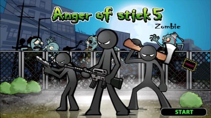 Anger of stick 5 андроид