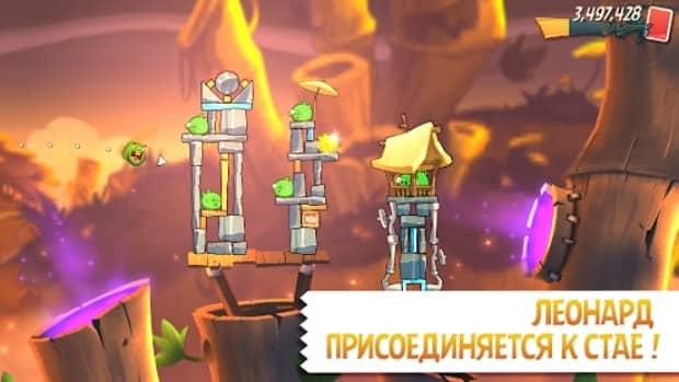 Angry Birds 2 андроид