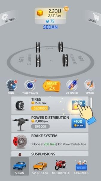 Idle Car андроид