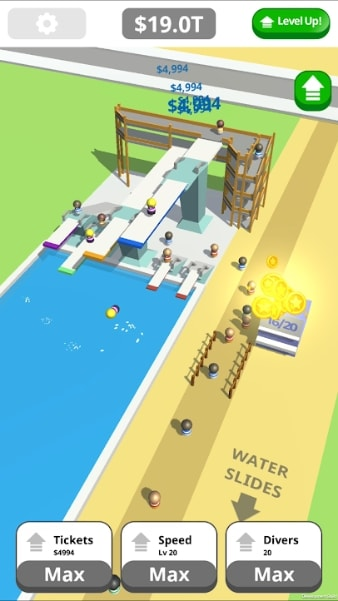 Idle Tap Splash Park скачать