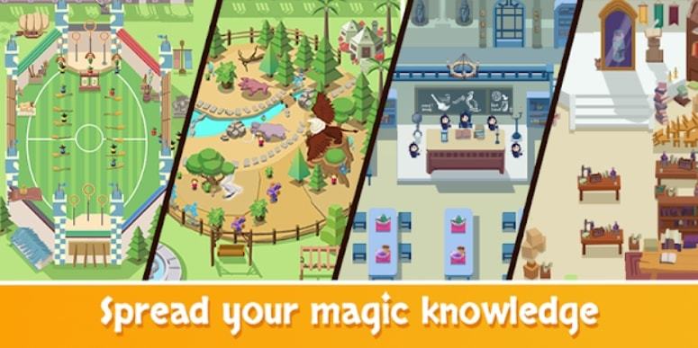 Idle Wizard School мод
