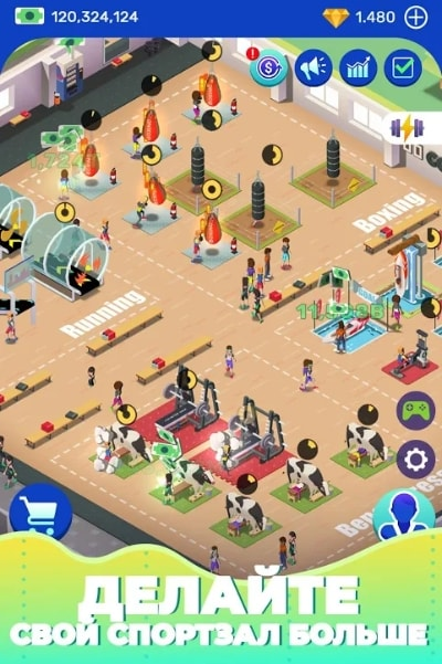 Idle Fitness Gym Tycoon читы