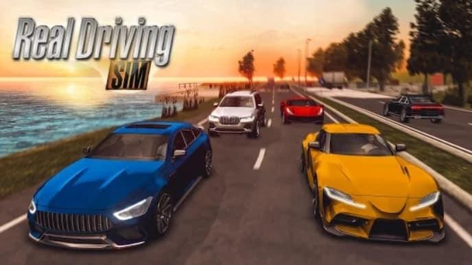 Real Driving Sim андроид