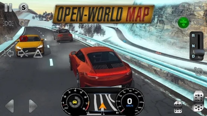 Real Driving Sim мод