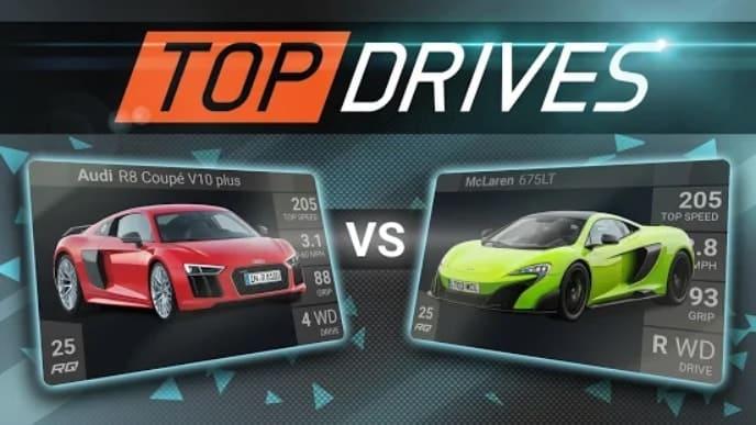 Top Drives андроид