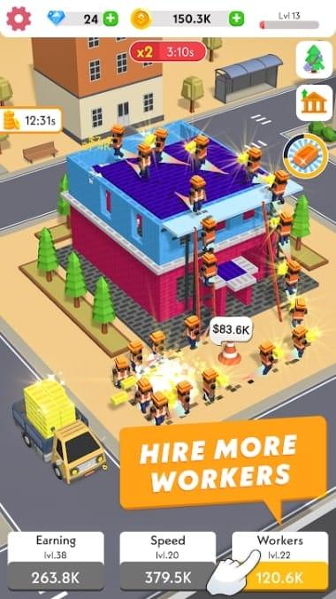 Idle Construction 3D читы