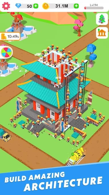 Idle Construction 3D мод