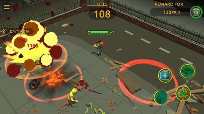 Zombie Blast Crew андроид